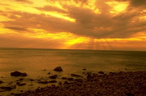 Sunrise at Kenting Beach